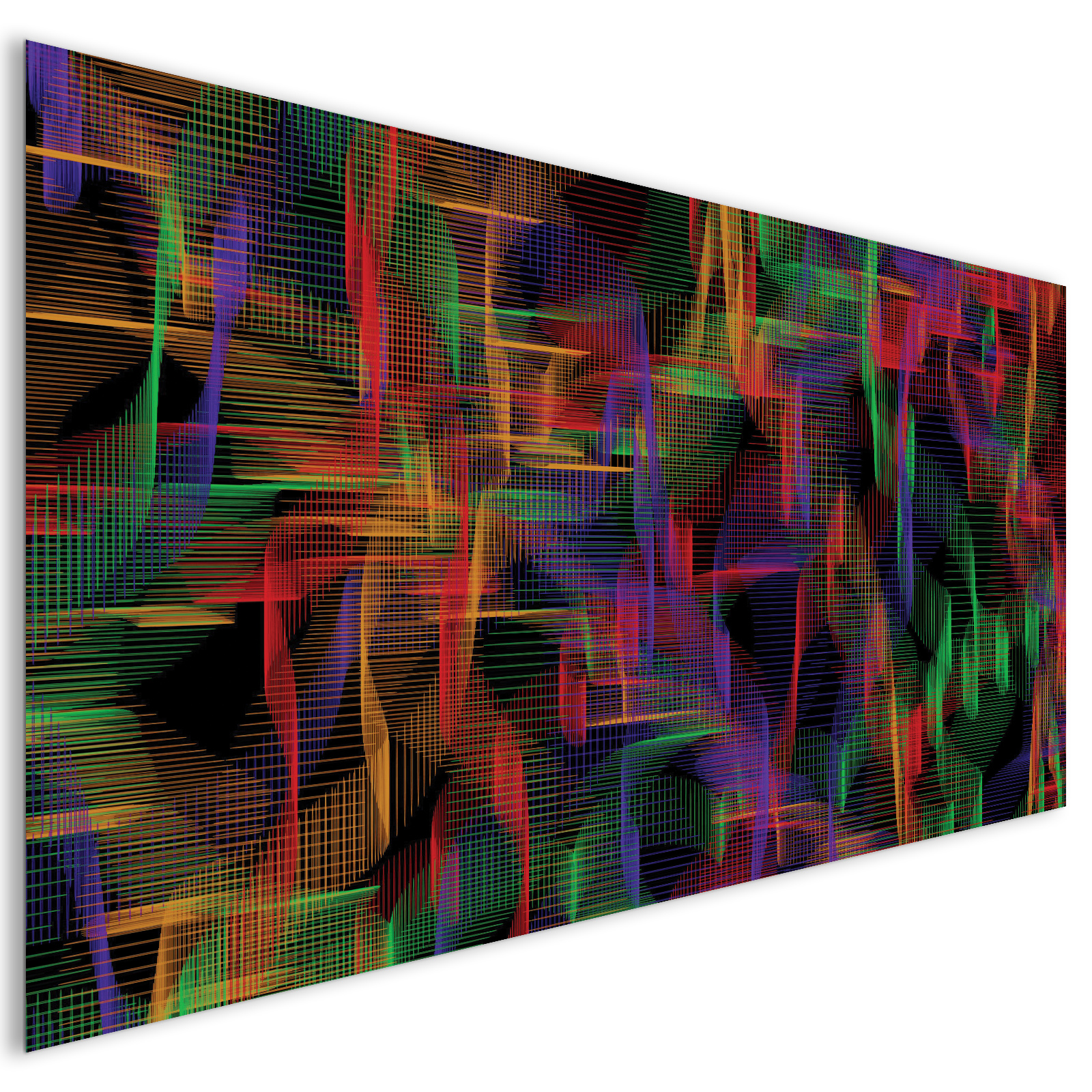 extra large coloured waves lines modern abstract acrylic glass wall art laguna project. Black Bedroom Furniture Sets. Home Design Ideas
